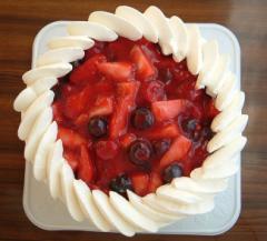 ベリーショートケーキ5号 直径15cm    誕生日ケーキ/バースデーケーキ