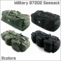 アウトドアに最適!バックパック/リュックサック B-72 シーサック ミリタリー/アーミー 2way/ボストン/デイバッグ オリーブ/ブラック