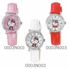 【送料無料】シチズン Q&Q Hello Kitty ハローキティウォッチ JAPANモデル 0003Nシリーズ(ラインストーン)★大人気 腕時計