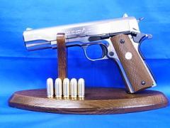 モデルガン マルシン コルト ガバメント M1911A1 シルバー ABS