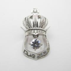 【DUB collection ダブコレクション】シルバー キュービックジルコニア ペンダント 送料無料SV silver ぺんだんと