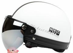 バイクヘルメット  半キャップ 男女共用ヘルメット  春、夏、秋   PSC付き MRC 送料無料