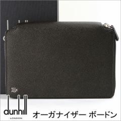ダンヒル 財布 DUNHILL メンズ オーガナイザー ボードン ブラックグレー L2M145Z