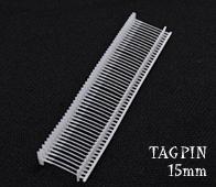 【業務用タグピン】タグピン15mm(5000個入) 洋服や衣類の値札付けに便利!フリマで活躍!