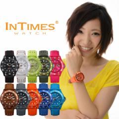 INTIMES(インタイムス)シチズン製ムーブ搭載!44mm PUレザー ダイバー メンズ/レディース 腕時計 選べる10色♪ IT057L