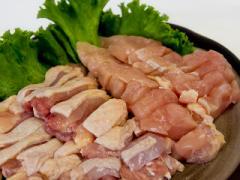 九州産▲若鶏こま切れ(切落し)[約1Kg]【送料無料*一部地域を除く】★もも肉とむね肉を使用☆とり肉はとってもヘルシ〜♪
