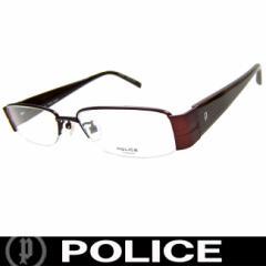 POLICE ポリス だてめがね 眼鏡 伊達メガネ サングラス V8258J RD6 国内正規代理店商品 定価30450円 (11)