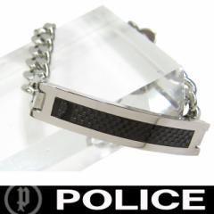 POLICE ポリス ブレスレット 市原隼人着用モデル DETR 25141BSS01 定価10800円 (AB)