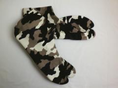 着物に 粋な男物男性柄足袋こはぜタイプ迷彩柄(25.0〜28.0)