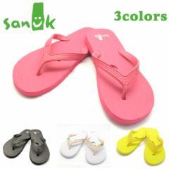 SANUK【サヌーク】SMILE ZORI 940-025 全4カラー  人気 流行 メンズ  ビーチサンダル  ラバー 海用