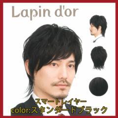 【Lapin dor】 ラパンドアール メンズウィッグ スマートレイヤー スタンダードブラック 5788
