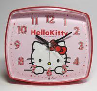◆リズム時計目覚まし時計【ハローキティ目覚まし】4REA25RH01