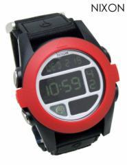 ニクソン 時計 腕時計 BAJA ブラック/レッド A489-760 ユニセックス NIXON