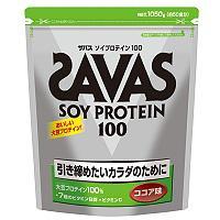 ザバス ソイプロテイン100 ココア味 1050g 【大豆たんぱく/SAVAS/明治】