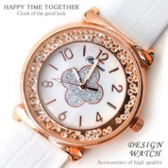★送料無料★超人気レディース腕時計!!かわいいデザイン♪フラワー花/ホワイト/白【tvs216】