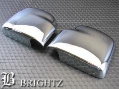 BRIGHTZ エブリィワゴン DA64W メッキドアミラーカバー Aタイプ【MMC-EVR-DYA】