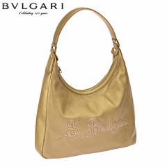 BVLGARI 32550 CALF/BRZ 手提げバッグ/32550 /import