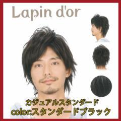 【Lapin dor】 ラパンドアール メンズウィッグ カジュアルスタンダード スタンダードブラック 5737