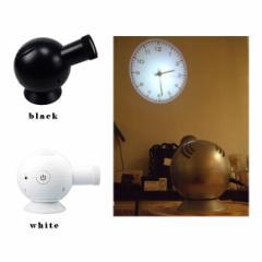 送料無料 プロジェクションクロック 壁や天井に時計を映すおしゃれな置き時計 / アラビック / ローマン / プロジェクション / 時計