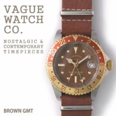 VAGUE WATCH BRWN GMT/ブラウンジーエムティー腕時計 【送料無料】 腕時計 メンズ Mens うでどけい ブランド 腕時計のシンシア