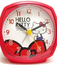 ◆【ハローキティ めざまし時計 DAILY】4RA478-M01