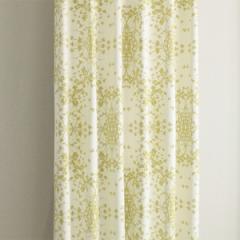 カーテン 北欧柄 セリーグリーン 幅150cm×丈178cm2枚 遮光カーテン tdos7551