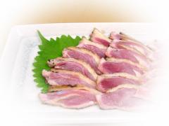当店特製■九州産 味わい鶏たたき[大盛り 約1Kg]特製しょうゆたれ付【送料無料*一部地域を除く】<ご贈答>