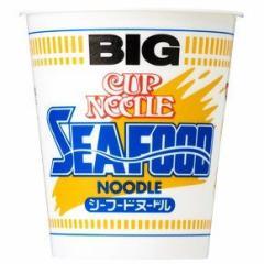 【 送料無料 】【6240円以上で景品ゲット】 新着 日清食品 カップヌードル シーフードヌードル ビッグ 1箱(12食入り)