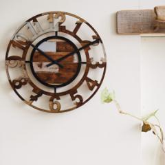 おしゃれな掛け時計 ベルシー インターフォルム CL-8325 /壁掛け時計 / アンティーク / レトロ / マリンスタイル