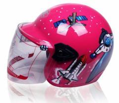 バイクヘルメット  ジェットヘルメット 子供用ヘルメット  春、夏、秋、冬 PSC付き YOHE-859 送料無料