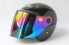 バイクヘルメット ジェット 男女共用ヘルメット 春、夏、秋、冬 PSC付き YOHE-836 送料無料