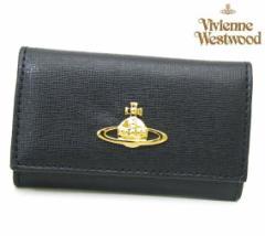 ヴィヴィアンウエストウッド キーケース 0720V SAFFIANO NERO ブラック Vivienne Westwood