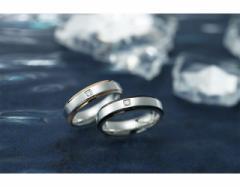 ペアリング ステンレス カップル お揃い シンプル Pure Stainless frame(フレーム):ブラック&ローズ GRSS76/8,618 円