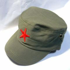 カーキ色高級人民帽子