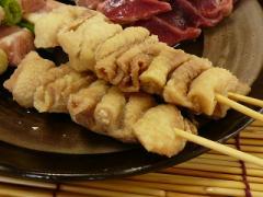 国産若鶏▲焼鳥 皮串[1ケース・50本入]<業務用>焼き鳥・串焼きが旨い★まとめ買い