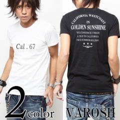 VAROSH(ヴァロッシュ)Cal.67クルーネックTシャツ