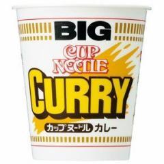 【 送料無料 】【6240円以上で景品ゲット】 新着 日清食品 カップヌードル カレー ビッグ 1箱 (12食入り)