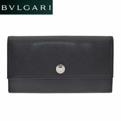 BVLGARI  ブルガリ 27749 BLACK 長財布 小銭入れ付 /import