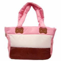 【わんちゃんキャリーバック】ペットプロ パステルライトバッグ【ピンク】★☆