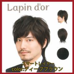 【Lapin dor】 ラパンドアール メンズウィッグ スマートレイヤー ディープブラウン 5789