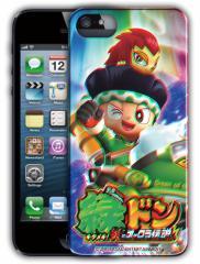 (パチスロ) 「緑ドンキラメキ!炎のオーロラ伝説」 3D iphone5 ケース 絵柄が飛び出る! (ドンちゃん) (ビリー) アイフォン5専用