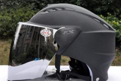 バイクヘルメット 半ギャップ  男女共用ヘルメット  春、夏、秋 フリーサイズ PSC付き AK-621 送料無料