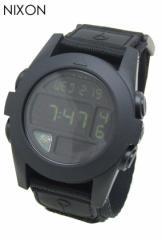 ニクソン 時計 腕時計 BAJA オールブラック A489-001 ユニセックス NIXON