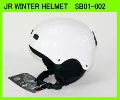スノーボード、スキーヘルメットジュニア用UNIX SB01-002◆WHITE◆