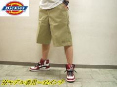 セール ワーク系・Dickies・ディッキーズ メンズ マルチポケット ショートパンツ*ハーフパンツ42-283