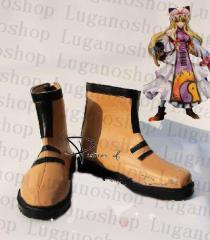 東方Project   東方妖々夢 八雲 紫(やくも ゆかり) 専用ブーツ、靴★ コスプレ道具/小物 *D134