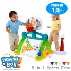 送料無料★ハビングアボール ファイブインワンスポーツゾーン 9243■スポーツが楽しめる知育おもちゃ!体を動かす楽しさを学ぶ知育玩具
