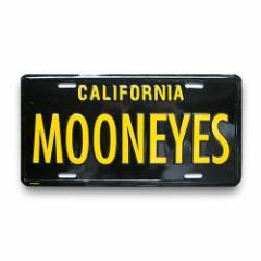 【ムーンアイズ】【MOON EYES】USサイズライセンスプレート