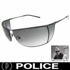 POLICE ポリス 復刻版 ミラー サングラス EXILE ATSUSHI着用 S2819 568F 国内正規代理店商品 定価24150円 (32)