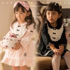 子供ドレス ワンピース キッズドレス アリスのうさぎ刺繍のフォーマル2Wayワンピース キッズ ベビー 女の子 卒園式 入学式 結婚式 TK4016